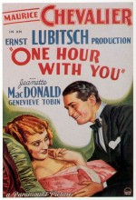 One Hour With You (1932) afişi