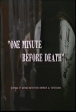 One Minute Before Death (1972) afişi