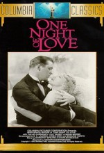 One Night Of Love (1934) afişi