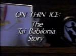 On Thin Ice: The Tai Babilonia Story (1990) afişi