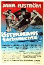 östermans Testamente (1954) afişi