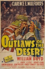 Outlaws Of The Desert (1941) afişi
