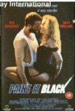 Paint ıt Black (1989) afişi