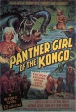 Panther Girl Of The Kongo (1955) afişi