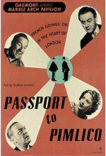 Passport To Pimlico (1949) afişi