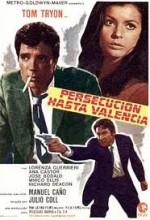 Persecución Hasta Valencia (1970) afişi