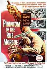 Phantom Of The Rue Morgue (1954) afişi