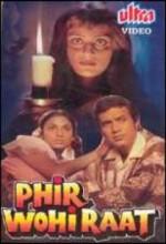 Phir Wohi Raat (1980) afişi
