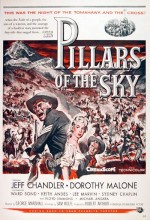 Pillars Of The Sky (1956) afişi