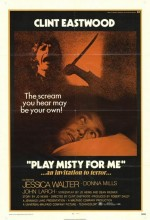 Play Misty For Me (1971) afişi