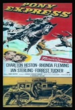 Pony Express (1953) afişi