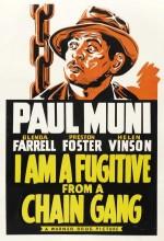 Prangalı Hapishane Kaçağıyım (1932) afişi
