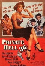 Private Hell 36 (1954) afişi