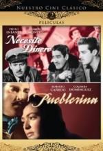 Pueblerina (1949) afişi