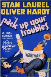 Pack Up Your Troubles (1932) afişi