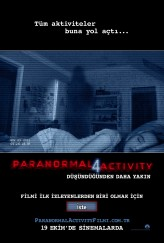 Paranormal Activity 4 (2012) afişi