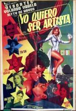 Quiero Ser Artista (1958) afişi