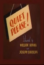 Quiet Please! (1945) afişi