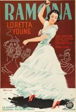 Ramona (1936) afişi