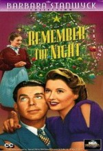 Remember The Night (1940) afişi