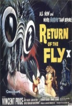 Return Of The Fly (1959) afişi