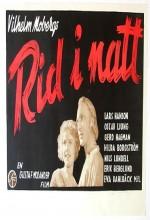 Rid I Natt! (1942) afişi