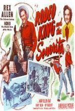 Rodeo King And The Senorita (1951) afişi
