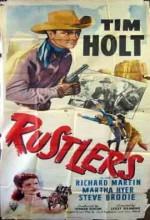 Rustlers (1949) afişi