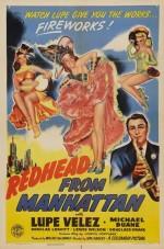 Redhead From Manhattan (1943) afişi