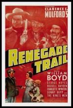 Renegade Trail (1939) afişi