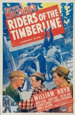 Riders Of The Timberline (1941) afişi