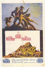 Rio Conchos (1964) afişi