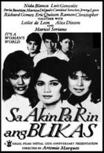 Sa Akin Pa Rin Ang Bukas (1988) afişi