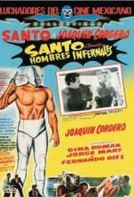 Santo Contra Hombres Infernales (1961) afişi