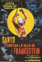 Santo Vs. La Hija De Frankestein (1972) afişi