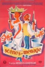 Scènes De Ménage (1954) afişi