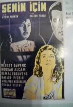 Senin İçin (1957) afişi