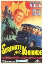 Serenate Per Sedici Bionde (1957) afişi
