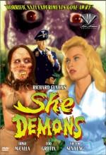 She Demons (1958) afişi