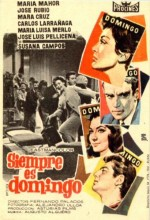 Siempre Es Domingo (1961) afişi