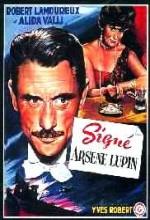 Signé Arsène Lupin (1959) afişi