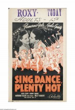 Sing, Dance, Plenty Hot