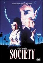 Society (1989) afişi