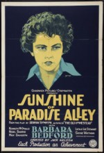 Sunshine Of Paradise Alley (1926) afişi