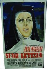 Suor Letizia (1957) afişi