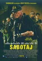 Sabotaj (2014) afişi