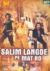 Salim Langde Pe Mat Ro  afişi