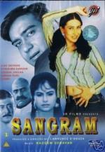 Sangram (1993) afişi