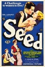 seed (1931) afişi