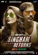 Singham Dönüyor (2014) afişi